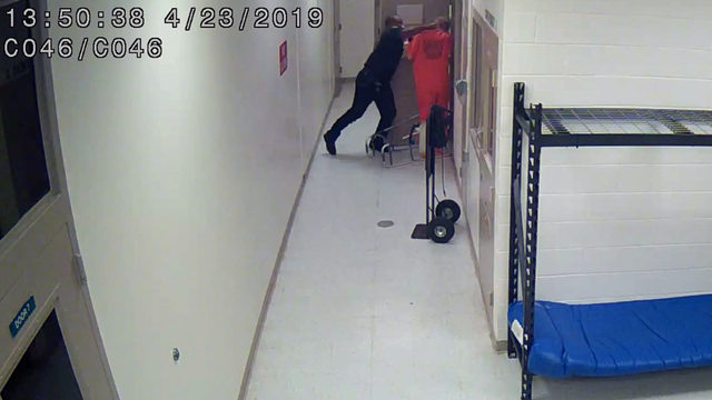 Video shows Flagler deputy punching inmate to floor