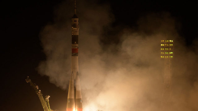 American, Russian, UAE arrive on International Space Station