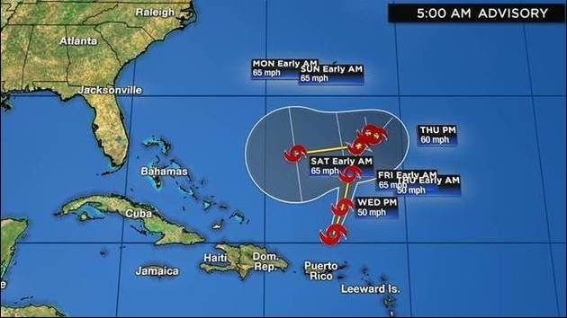 Track, models, updates: Crazy path could lead Tropical Storm Karen to Florida