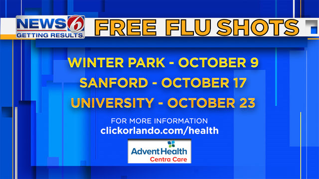 Here's how to get your flu shot for free this year