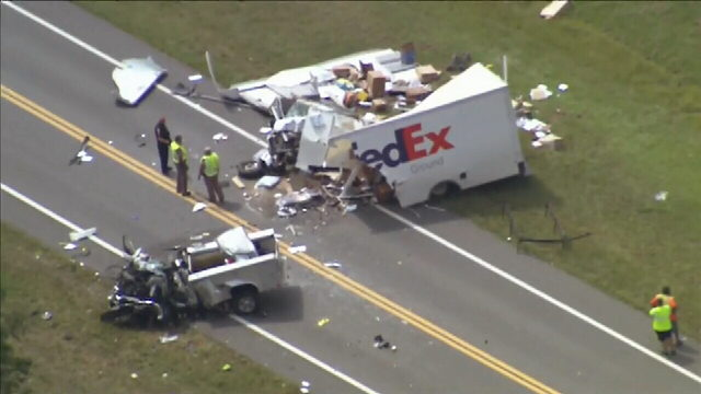 FedEx driver killed in head-on crash on Snow Hill Road in Seminole County
