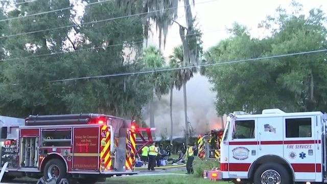 Homeowner says vintage cars destroyed in fire in DeBary