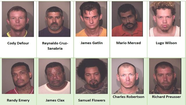 67 sexual predators, offenders arrested in Osceola operation