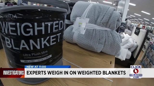 Weighted blankets for kids? Two doctors weigh pros, cons