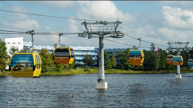 Disney closes Skyliner gondolas after guests stuck for hours on new ride