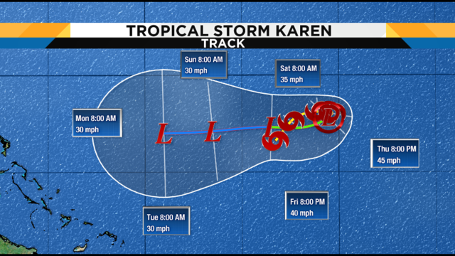 Here's why Karen has a weird path; check out other crazy-moving storms