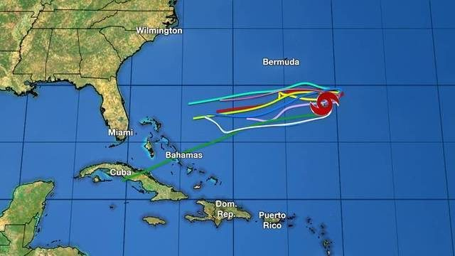 Track, models: Tropical Storm Karen holding on -- for now