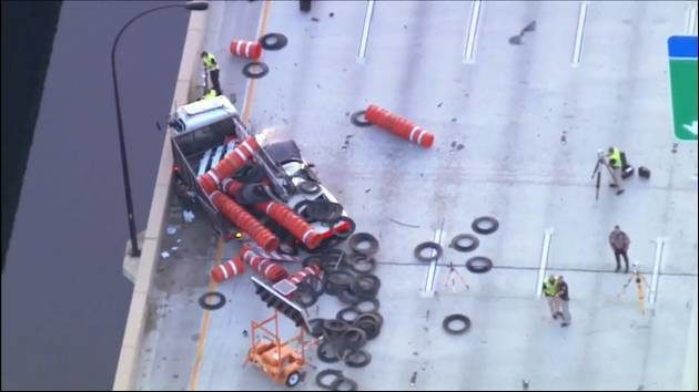 WATCH LIVE: Sky 6 over SR 408 crash