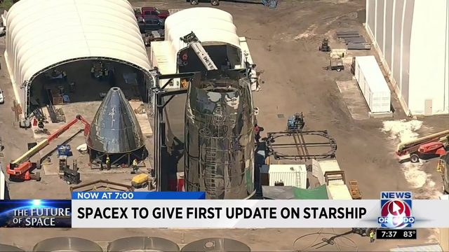 SpaceX to give first update on starship