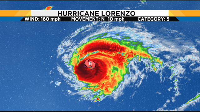 History made: Lorenzo became strongest hurricane for its location in the…