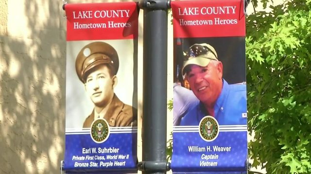 Eustis banners highlight hometown heroes