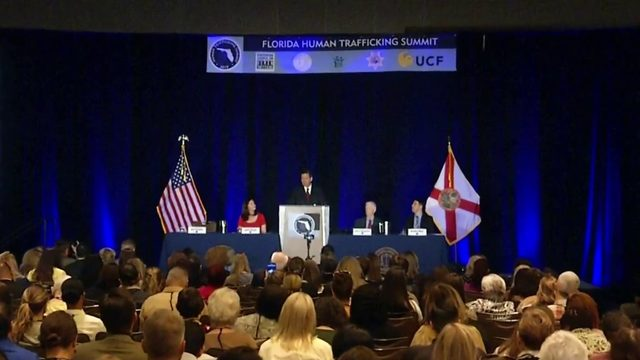 Florida leaders meet in Orlando for human trafficking summit