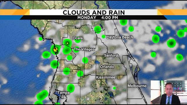 Here's your detailed forecast for Central Florida