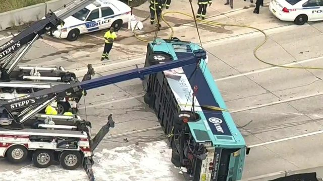 Report shows what led to I-4 Lynx bus flipping