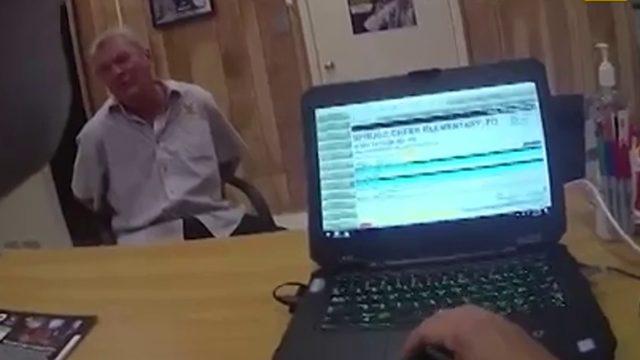 Spruce Creek High School intruder body camera video