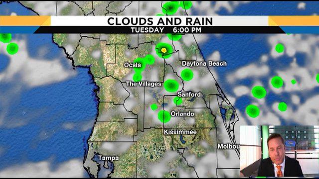 Troy Bridges' detailed forecast for Central Florida