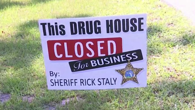 Drug house signs posted in Flagler County