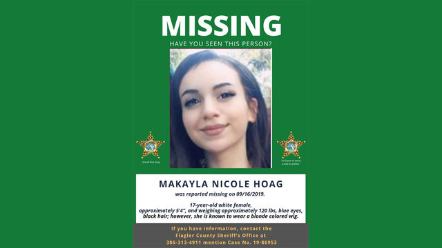 Have you seen this teen? Flagler County 17-year-old girl reported missing