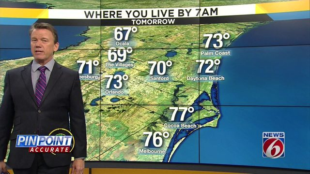 News 6 evening video forecast -- 10/2/19