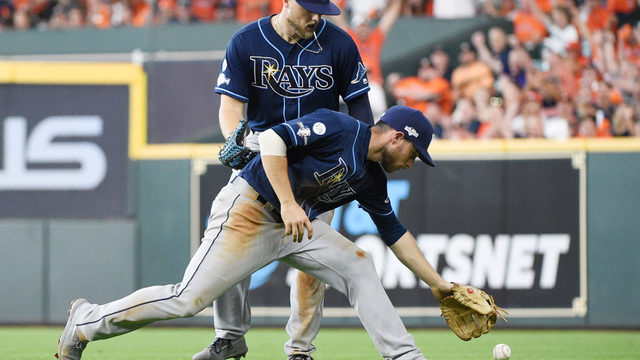 Rays fall 6-2 to Astros in ALDS opener