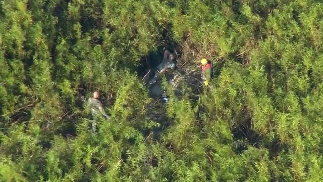 Coast Guard rescues 2 pilots after hard landings in Central Florida