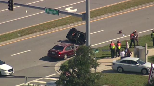 2 teens injured in Viera golf cart crash