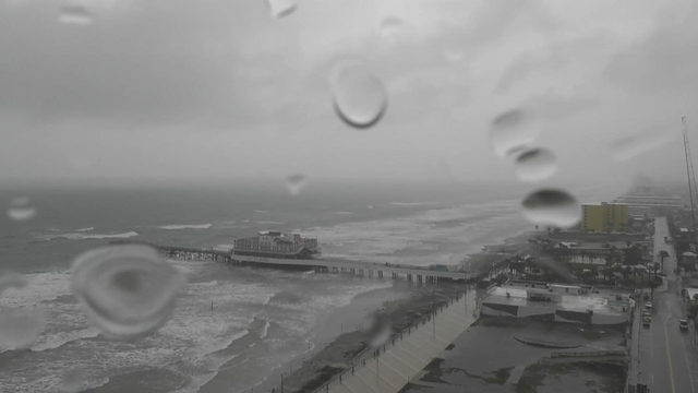 Record rain hits Daytona Beach for Oct. 9