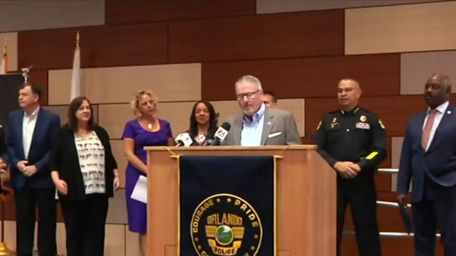 Leaders kick off Domestic Violence Awareness Month