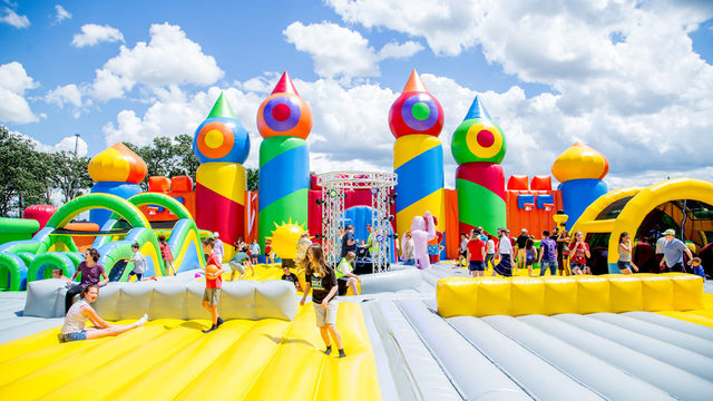World's Biggest Bounce House coming to Central Florida for two weekends