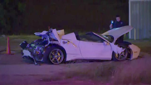'High-profile' man injured in Ferrari crash in Dallas, police say