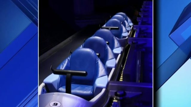 Space Mountain seats, Peter Pan sails taken from Disney World