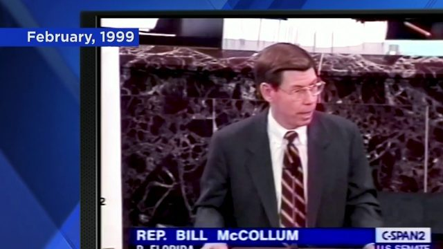 Former congressman who led Clinton impeachment say Trump impeachment not likely