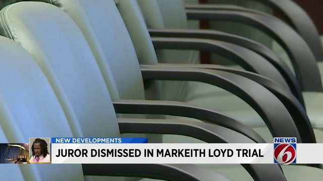 Juror dismissed in Markeith Loyd trial
