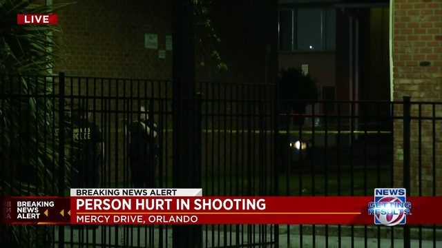 Person hurt in shooting