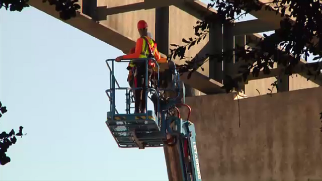 Girder placement resumes after I-4 Ultimate worker's death