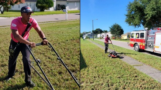 From mowing lawns to placing in K-9 competitions, Orlando-area first…