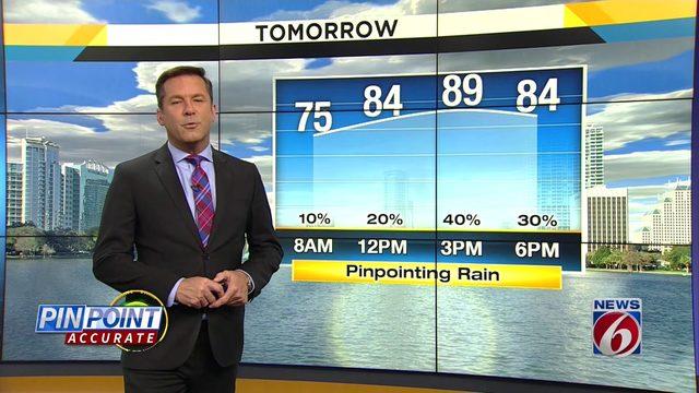 News 6 evening video forecast -- 10/15/19