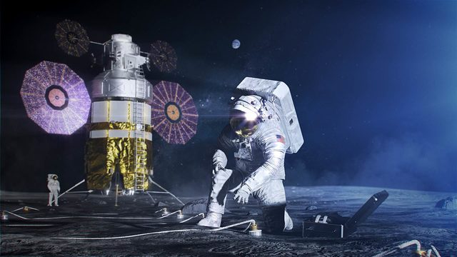 WATCH LIVE: NASA demos new moon spacesuits