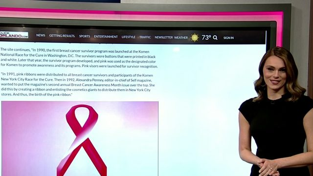 What's the real story behind the pink ribbon?