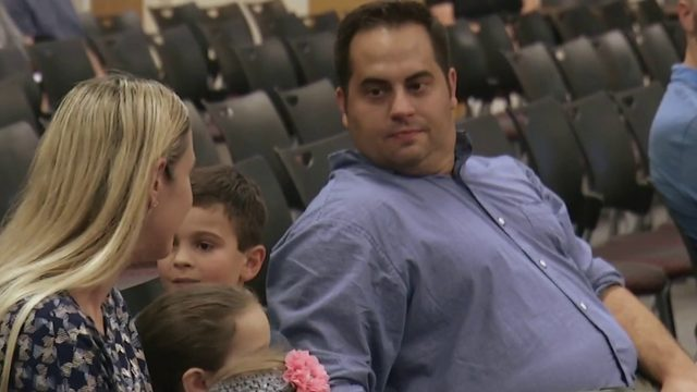 Father fights to allow his son's therapist on school grounds