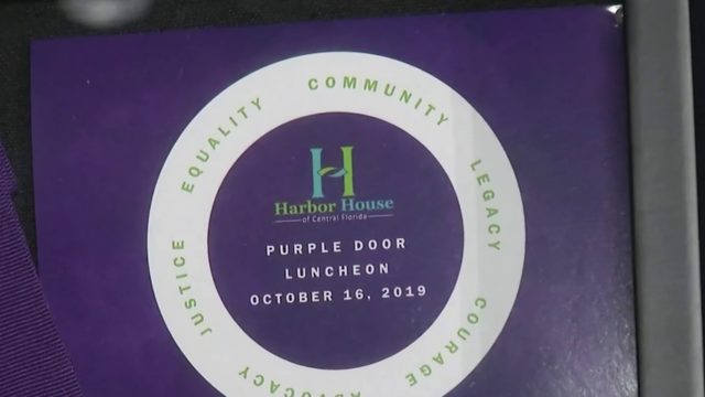 Harbor House honors survivors of domestic abuse during Purple Door luncheon