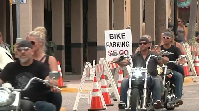 Biketoberfest hotel bookings slow due to Hurricane Dorian, business owner says