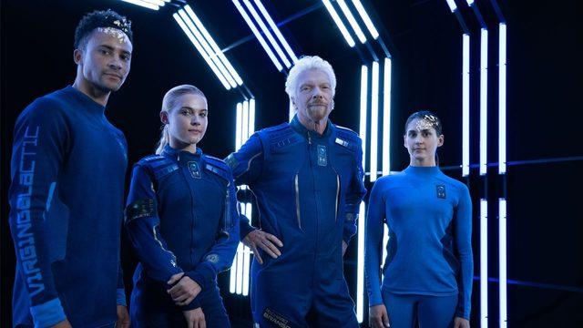 Virgin Galactic, Under Armour reveals private astronaut spacesuits