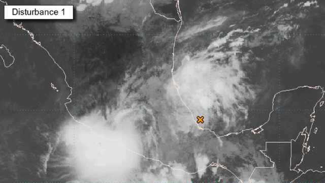 Disturbance in Gulf of Mexico could develop into named storm