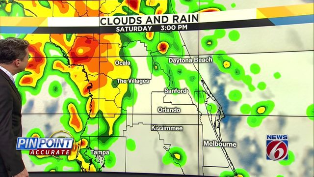 News 6 evening video forecast -- 10/17/19