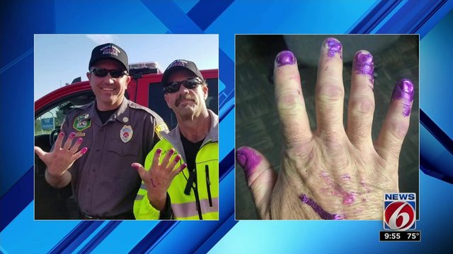 Purple nails and an animatronic spider: here are this week's viral videos
