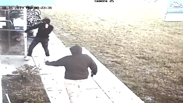 Video: Pawn shop robbed in Osceola County