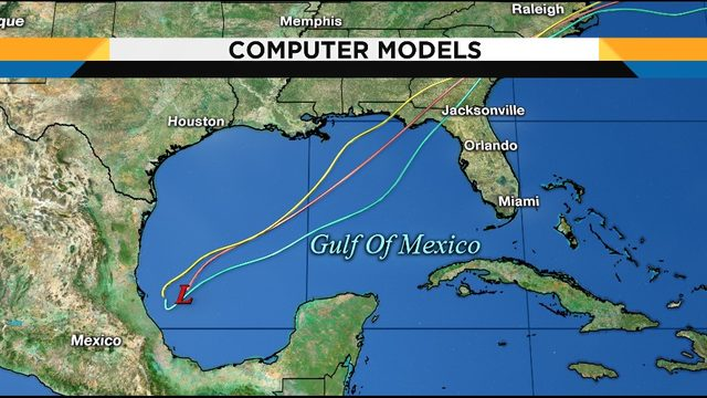 Blob being monitored in tropics could soak Central Florida this weekend