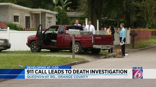 Man dies after being found in truck in Orange County, deputies say