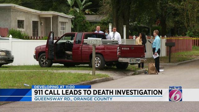 Man dies after being found in truck in Orange County, deputies say